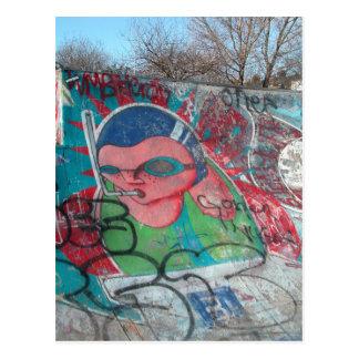 Skate-Park Postkarte