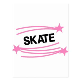 Skate Postkarte
