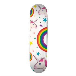 Skateboard Einhorn Emoji