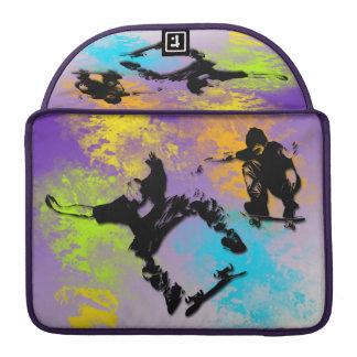 Skateboardfahrer Macbook Prohülse MacBook Pro Sleeves