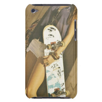 Skateboardmädchen IPod-Kasten iPod Case-Mate Case