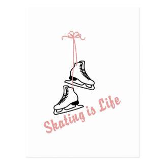 Skaten ist Leben Postkarte