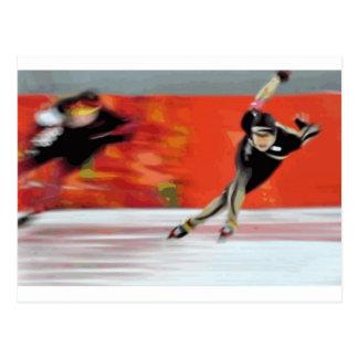 Skater Postkarte