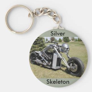 Skeleton Motorrad keychain Schlüsselanhänger
