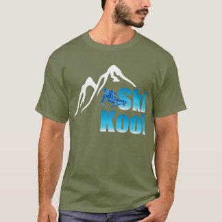 Ski Kool Ermüdungs-Grünt-stück T-Shirt