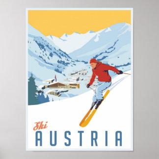Vintage Ski Poster auf Zazzle Österreich