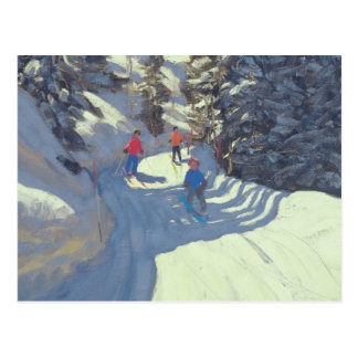 Ski-Spur Lofer 2004 Postkarte
