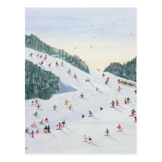 Ski-vening 1995 postkarte