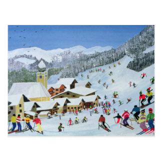 Ski Whizzz! 1991 Postkarte