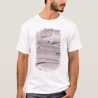 Skifahren-Bahnen T-Shirt