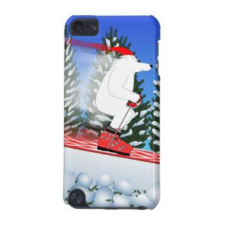 Skifahren-Eisbäripod-Kasten iPod Touch 5G Hülle