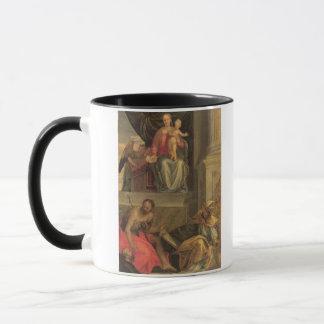 Skizze für den Bevilacqua Altarpiece Tasse