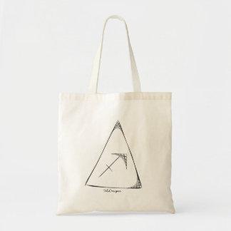 Skizze-Symbol-einfache Tasche