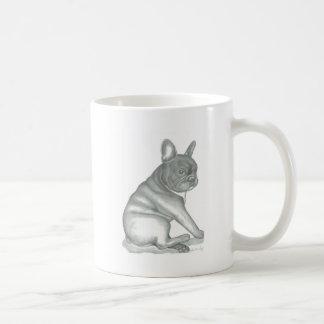 Skizze-Tasse der französischen Bulldogge Tasse