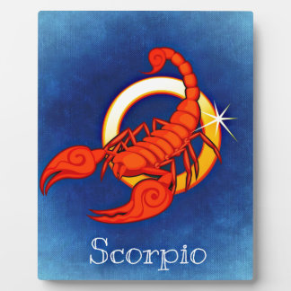 Skorpion Fotoplatte