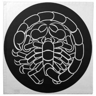 Skorpions-Skorpions-Tierkreis-Zeichen Serviette
