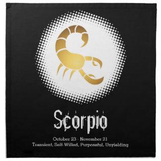 Skorpions-Tierkreis-Zeichen Serviette