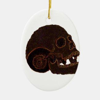 skull2 keramik ornament
