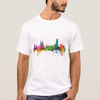 Skyline Barcelonas Spanien T-Shirt