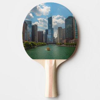 Skyline Chicago Tischtennis Schläger