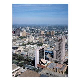 Skyline San Antonio Texas Postkarte