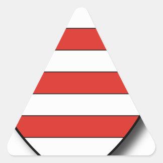 Slowakei Dreieckiger Aufkleber