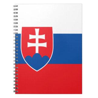 Slowakei-Flagge Notizbuch