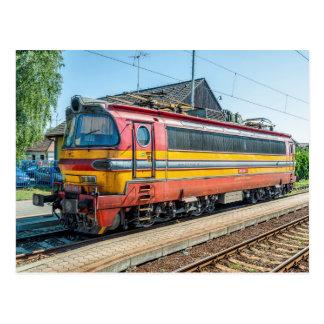 Slowakei ZSSK elektrisches LO-COM. Art 240 Postkarte