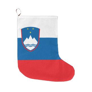 Slowenien-Flagge Großer Weihnachtsstrumpf