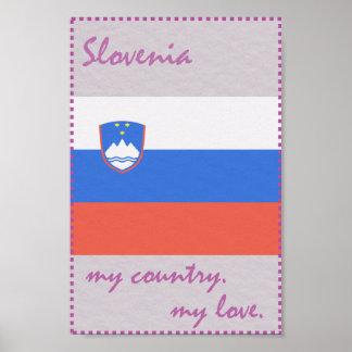 Slowenien mein Land meine Liebe Poster