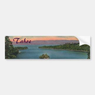 Smaragdbucht - Lake- TahoeAutoaufkleber Autoaufkleber