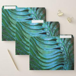 Smaragdgefieder II Papiermappe