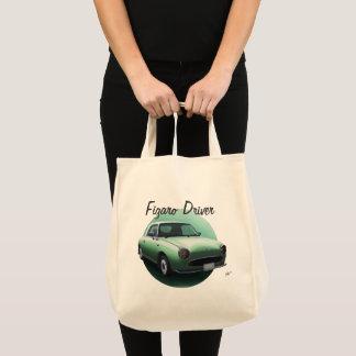 Smaragdgrün-Nissan Figaro Fahrer-Taschen-Tasche Tragetasche