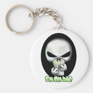 Smart phone zombie - Smombie Mobilephone Zombie Schlüsselanhänger