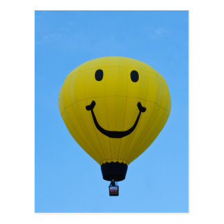 Smiley des Ballon-6864 Postkarte