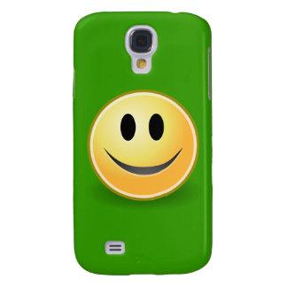Smiley (Grün) Galaxy S4 Hülle