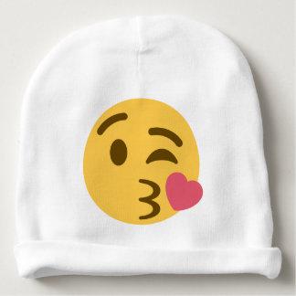 Smiley Kiss Emoji Babymütze