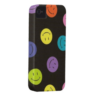 Smiley - mehrfarbig iPhone 4 Case-Mate hülle