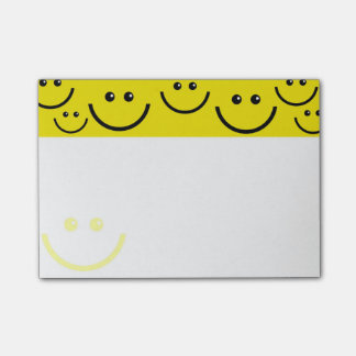 Smiley Post-it Klebezettel