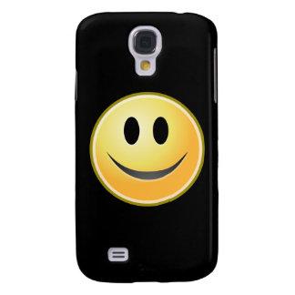 Smiley (Schwarzes) Galaxy S4 Hülle
