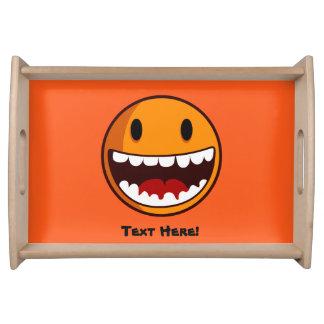 Smiley Tablett