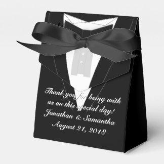 Smoking schwarzes Bowtie Geschenkkartons