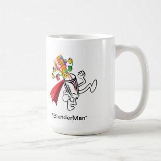 "Smoothie Whirl'd ""BlenderMan"" GetränkeTasse Kaffeetasse"