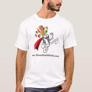 "Smoothie Whirl'd ""BlenderMan"" T - Shirt"