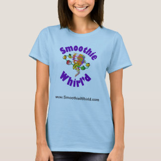 Smoothie Whirl'd Damen-Baby - Puppe angepasste T T-Shirt