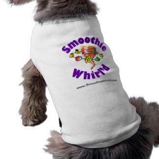 Smoothie Whirl'd Hündchen-gewelltes Trägershirt T-Shirt