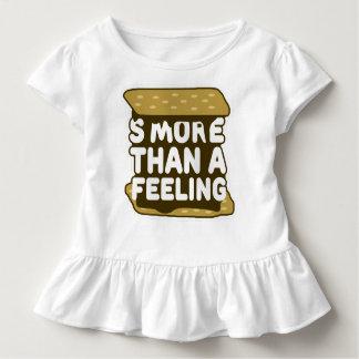 S'more als ein Gefühl Kleinkind T-shirt