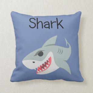 Snarky Sharky Haifisch Kissen
