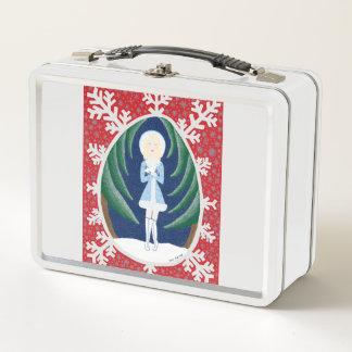 Snegurochka (Märchen-Mode-Reihe 3) Metall Lunch Box