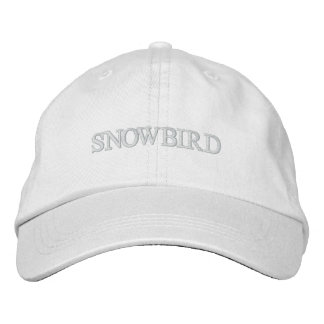 Snowbird gestickter Hut Baseballcap